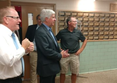 Gov Snyder at BAC (2)